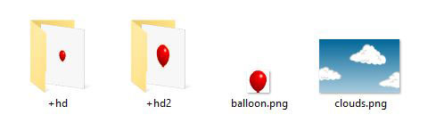 File selectors balloon