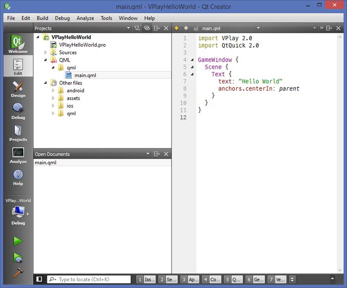 Getting Started with QML & Qt Creator | Felgo Documentation