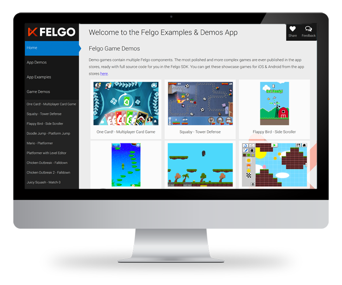 Felgo Games Examples and Demos | Felgo Documentation