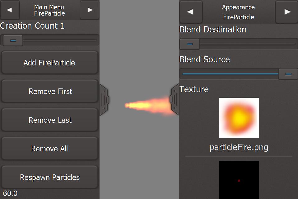Felgo Particle Editor - Felgo