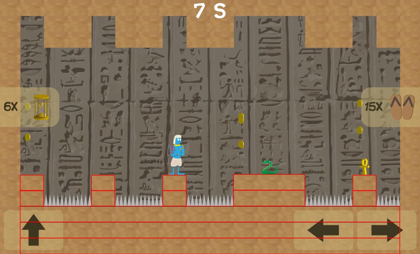 Pharaos Escape Level Colliders