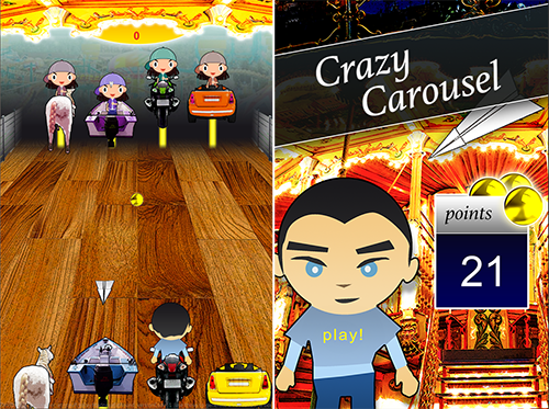Crazy Carousel - V-Play Action Game
