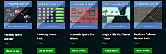 Free game assets] opengamegraphics com | Indie Gamer Forums