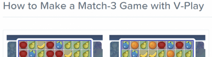 Match-3 Game Tutorial