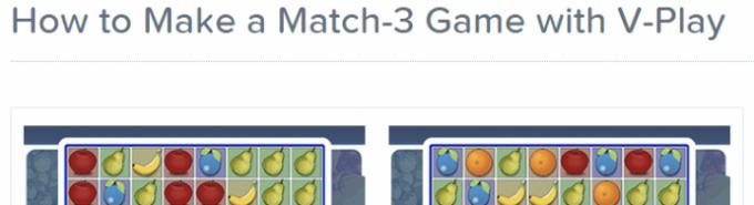 Match-3 Game Tutorial