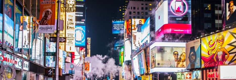 times square with bilboard ads