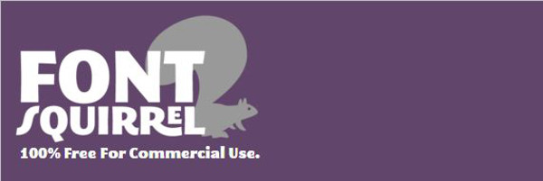fontsquirrel logo video game fonts