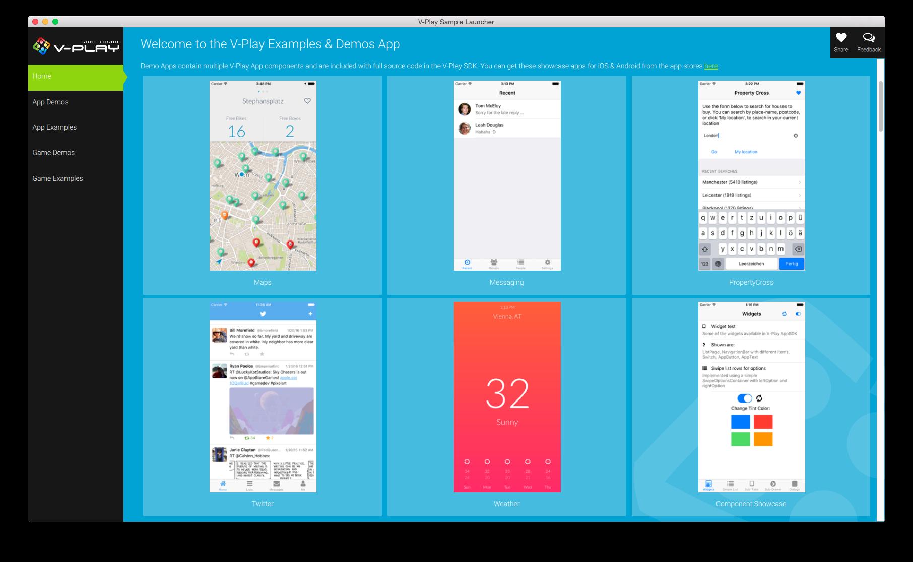 app demos in sl