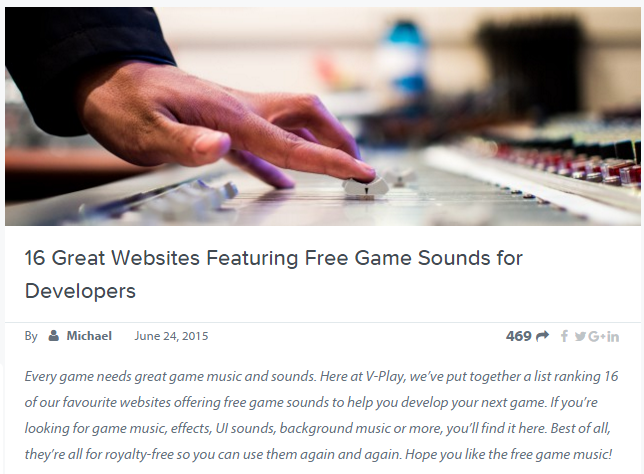 The Best Free Music for Games - 19 Most Useful Sites for 2019