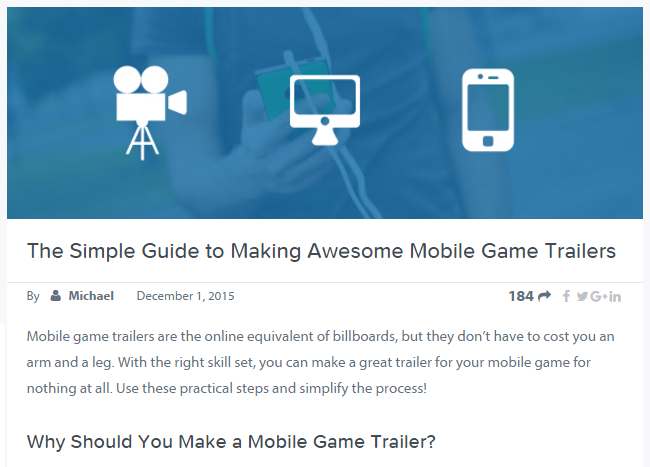 game trailer tips screen capture