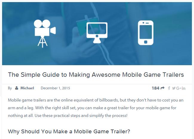 game trailer tips screen capture