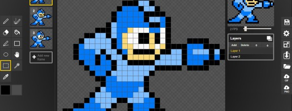 piskel art-how to make pixel art