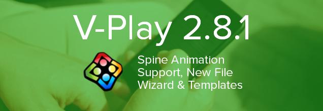 V-Play2.8.1-cross platform development tool