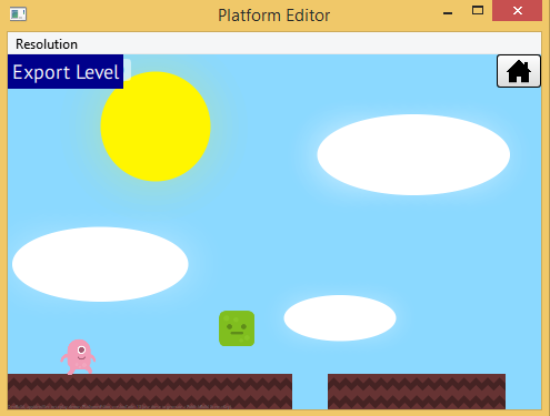 Make A Mobile game- Export level