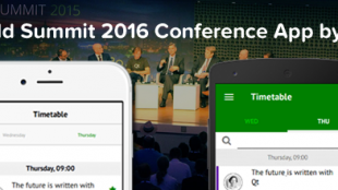 Qt World Summit 2016 Conference App by V-Play