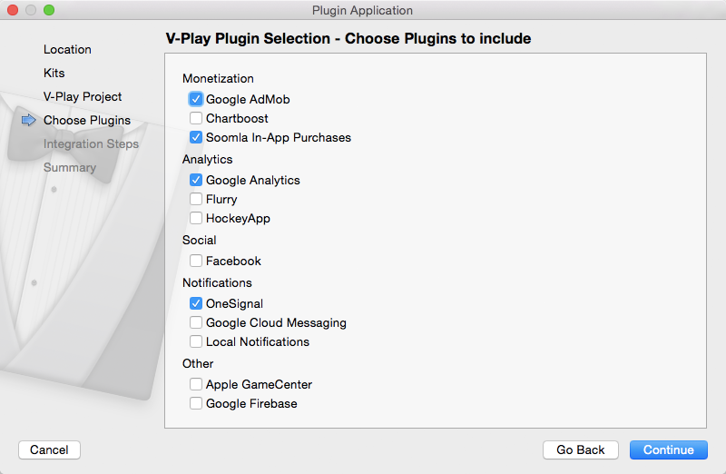 how to release a desktop application in v-play