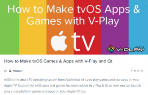 how to make tvos apps