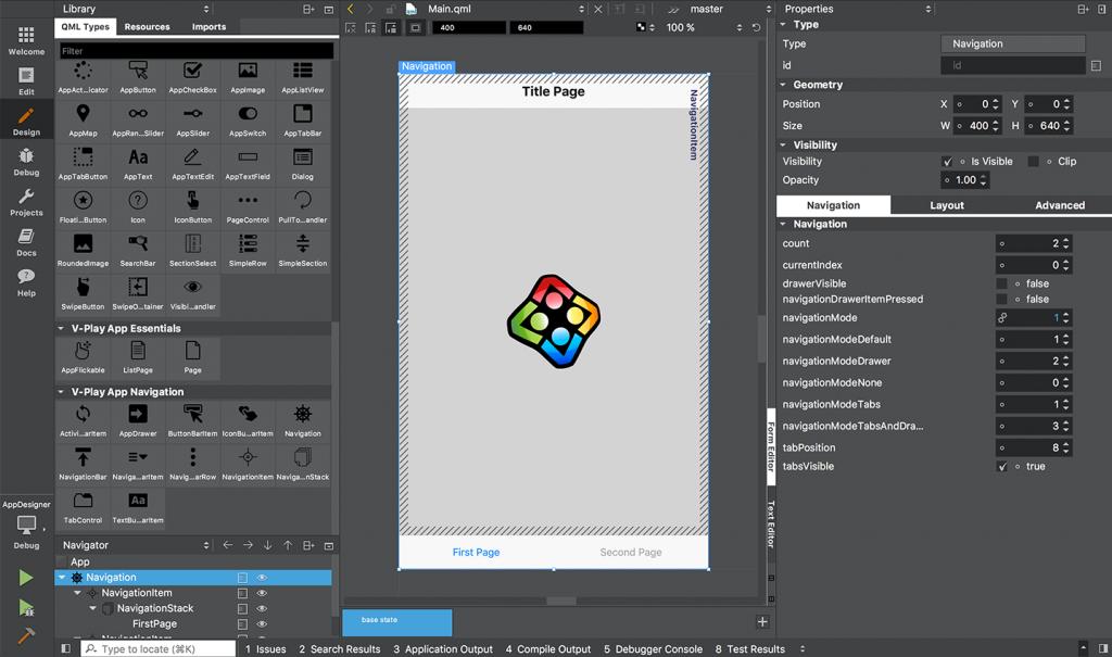Firebase Realtime Listeners & Designer Icons for V-Play & Qt