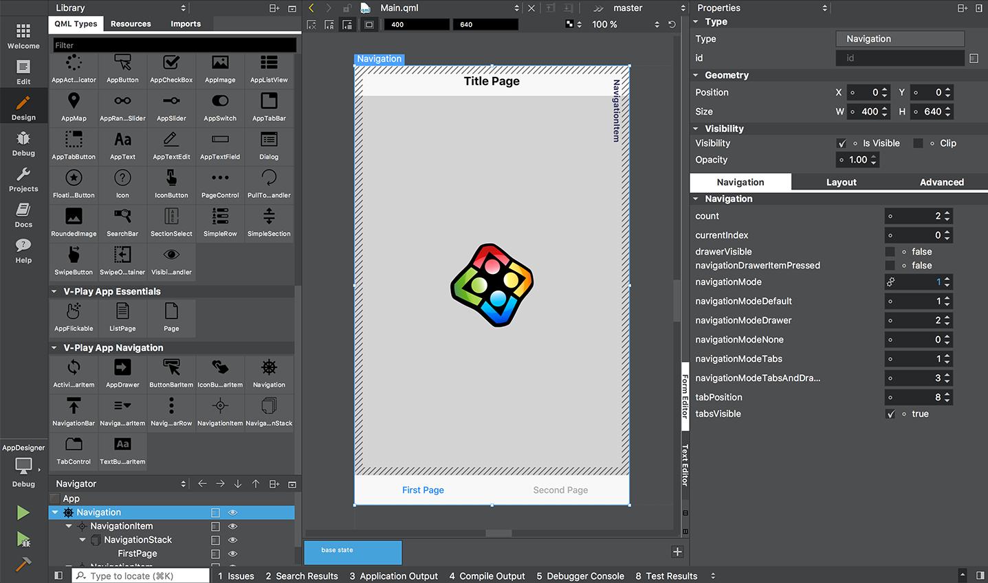 Qt Creator - Qt Quick Designer