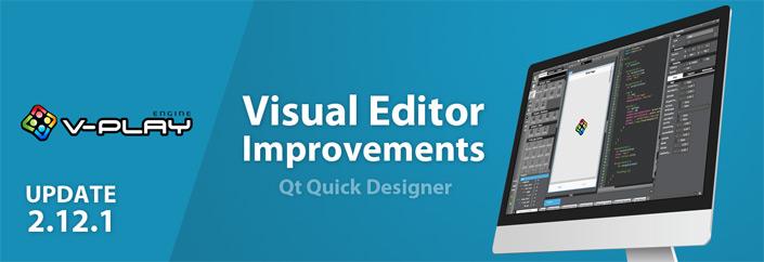 V-Play Update 2.12.1: Qt Quick Designer Improvements