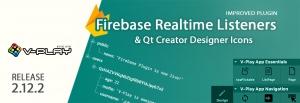 Release 2.12.2: Firebase Realtime Listeners & Qt Creator Designer Icons