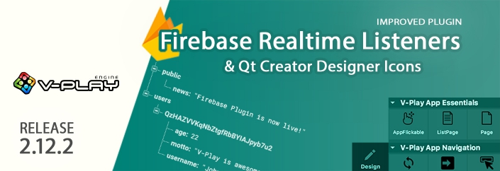 Release 2.12.2: Firebase Realtime Listeners & Qt Creator Designer Icons