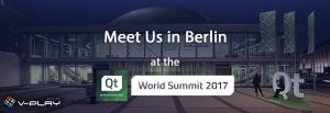 Qt World Summit 2017 - Meet us in Berlin
