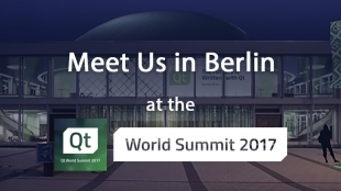Qt World Summit 2017 - Meet us in Berlin