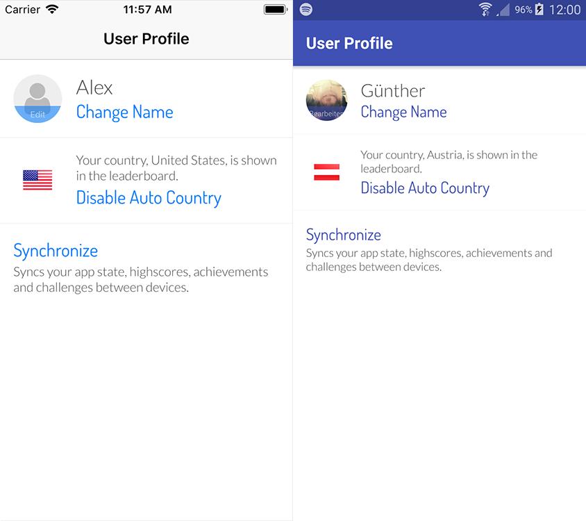 SocialView User Profile