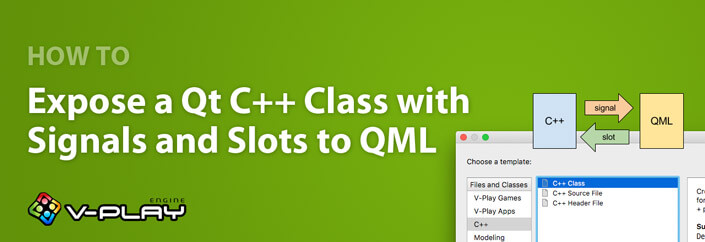 How to Expose a Qt C++ Class with Signals and Slots to QML