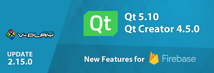 Release 2.15.0: Upgrade to Qt 5.10 & Qt Creator 4.5 | Firebase Data Structures and Queries & Many Improvements