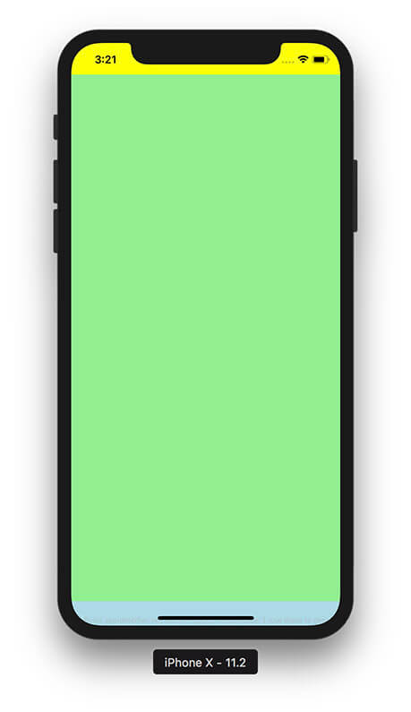 iPhone X Safe Area - Adaptive Layout