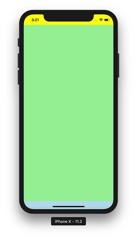iPhone X Safe Area - Adaptive Layout