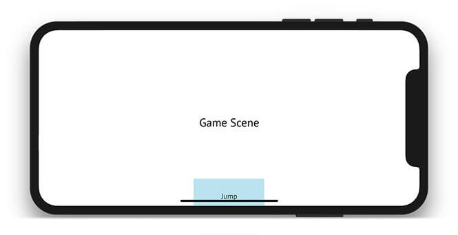 iPhone X UI - Game Controls