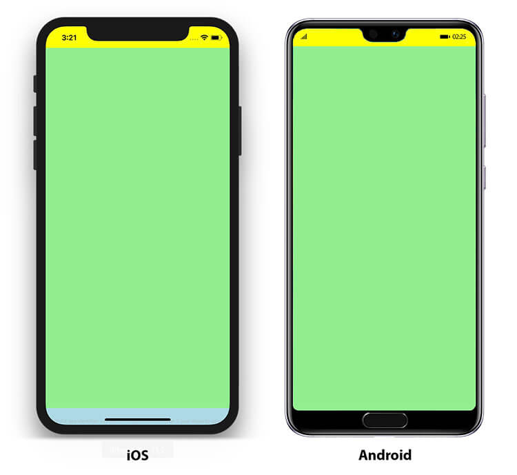 Create adaptive layouts to perfectly support the notch or display cutouts in your apps.