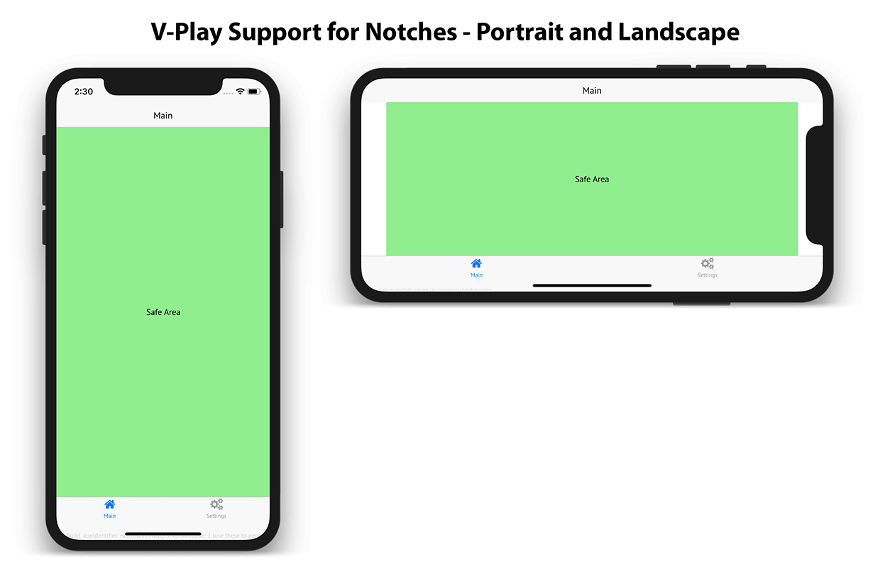 low priced b4768 5560d How to Handle Safe Area Insets for iPhone X, iPad X and Android P - 2019