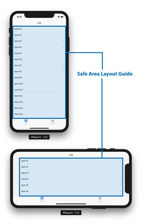 How to Handle Safe Area Insets for iPhone X, iPad X and Android P - 2019