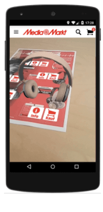 Media Markt Magazine with Augmented Reality