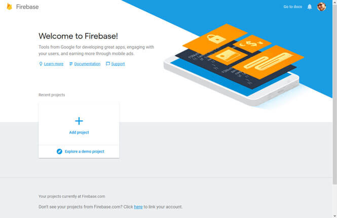 firebase-console-new-project