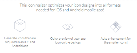 Makeappicon - turn your image into an icon for Android or iOS app